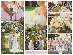 Jenna & Chris wedding collage