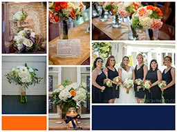 Mary & Johnathon wedding collage